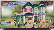 Lego Friends Andreaand039s Family House Building Kit Mini-doll Playset 802 Pieces