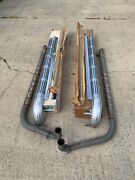 1965-1967 Corvette Side Pipes And Covers Original Excellent Condition