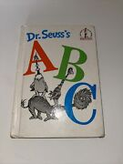 Hardcover Dr. Seuss Abc Book- Back Cover W/ Banned Book Ad- Discontinued
