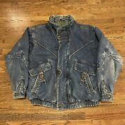 Vintage 80s Unique Denimn Jacket Todayandrsquos News Rare Sz. M