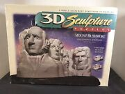 3d Sculpture Puzzles Mount Rushmore Challenging Layer Puzzle New Sealed 1998