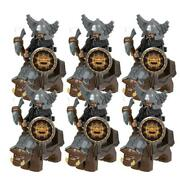 Minifigures Dwarves Mount Army Warriors Fits Building Bricks