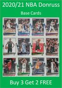 2020/21 Donruss Nba Base Cards Buy 3 Get 2 Free E.g. Lebron Curry Zion Simmons