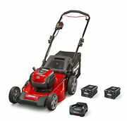 Snapper Xd 82v Max Cordless Electric 21 Push Lawn Mower Includes Kit Of 2 2.0