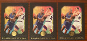1996-97 Skybox E-xl Shaquille Oand039neal 60 Card. Lot Of 3 Cards Shaq Hof