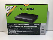 Insignia Digital To Analog Tv Converter Box Set Ns-dxa1-apt Remote And Cables New