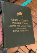 General Grantand039s Arabian Horses 1885 Leopard And Linden Tree Rare Free Us Shipping