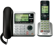 Vtech Expandable Corded Cordless Phone Answering Machine Call Waiting 1 Handset