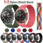 Nylon Loop Strap Wrist Band Bracelet For Samsung Gear S3 Frontier/classic S2 S4
