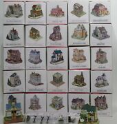 Liberty Falls Americana Collection 27 Buildings +pewter People And Accessories