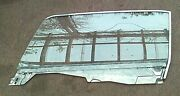 1964 1/2 1965 Mustang Convertible Lh Drivers Side Door Glass Window Assembly