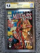 New Mutants 98 Cgc 9.8 White Pages Rob Liefeld Signed