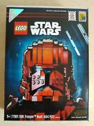 Sdcc 2019 Exclusive Lego Star Wars Sith Trooper Bust 77901 0397 Of 3000 Bnib