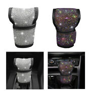 Universal Car Shift Knob Cover Bling Crystal Gear Auto Interior Accessories