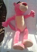 Vintage Poseable Pink Panther 1997 United Artist Pictures Inc 34 Plush