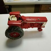 Vintage Farmall 706 Series Diecast Toy Tractor Parts Or Repair White Seat Ertle