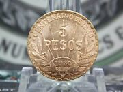1930 Uruguay 5 Pesos Gold Coin Better Date 1 East Coast Coin And Collectables