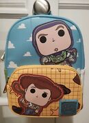 New With Tags Loungefly Pixar 25th Anniversary Toy Story Mini Backpack