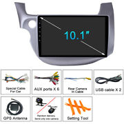 Car Dvd Player Stereo Radio Gps Wifi Android 10.1 For Honda Fit Jazz 2008-2013