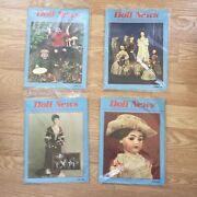 Ufdc Doll News 4 Magazine Lot Complete 1991 Spring Summer Fall Winter Paper