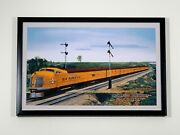 Union Pacific City Of Denver 11x17 Framed Poster