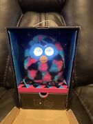 Furby Boom 2012 Black Pink And Turquoise With Boxinteractive Zebra