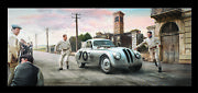 Bmw 328 Touring Coupe 1940 Mille Miglia Matted Art Print S/n Le 150 19x9
