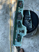 1963 Chevrolet Instrument Housing Assembly With Clock And Fuel Gauge