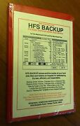 Sealed Hfs Backup By Personal Computer For Apple Mac Macintosh 512k, Plus Ii