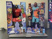 Space Jam New Legacy Lebron James And Marvin The Martian Tune Squad | Lot Of 2