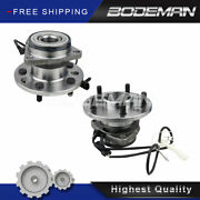 2 Front Wheel Hub And Bearing For Awd 1995-2000 2001 2002 Gmc Safari Chevy Astro
