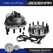 2 Front Wheel Hub Bearing For 11-16 Ford F450 F550 Super Duty 2wd Cab And Chassis
