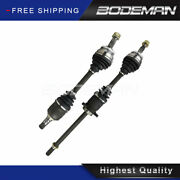 Pair Front Cv Axle Shaft For 2002 2003 2004 Nissan Altima V6 3.5l W/ Auto Trans.