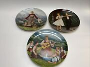 Set Of 3 Andldquosound Of Music Collector Plates By Edwin M. Knowles China Co