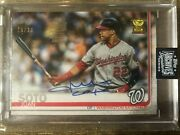 2020 Topps Archives Juan Soto Rookie Cup Auto 25/30🔥