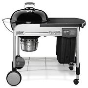 Weber 15401001 Performer Deluxe Charcoal Grill 22-inch Black