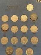 Complete Canadian Nickel Collection 1922- 1960 G-unc Nice Whitman Grouping