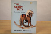 The Strom Toys, 2 Books And Carving Miniature Santas 1 Book, Wood Carving