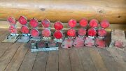 Vintage Reflector Flares Auto Accessories Emergency Roadside Equipment Driveway