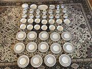 Noritake Halifax Fine China 14 Person Place Setting 91 Pieces Great Condition