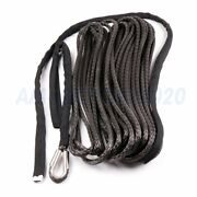 2pcs Synthetic Winch Rope Line Cable 2/5and039and039 X 100and039 23000 Lb For Atv Utv