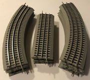 Lionel Fastrack 40x60 Oval Circle Layout Fast Track 13 Pieces Lot O Gauge Trains