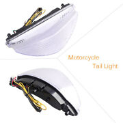 Led Taillight Integrated Turn Signal Lamp For Yamaha Raider 2008-2010 Clear Tb