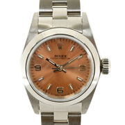 Rolex Watches 67180 Stainless Steel U Number 1997 Guarantee Perpetual Used