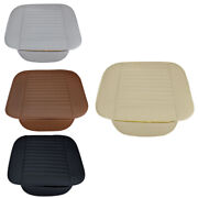 1xbreathable Pu Leather Auto Car Front Back Seat Cushion Cover Pad Mat Protector