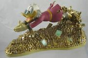 Disney Classics Collection Scrooge Mcduck - A Pool Of Riches - Ceramic Figurine