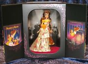 Disney Designer Premiere Collection Belle Limited Edition Doll New