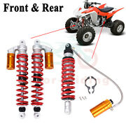 Pair Front And Rear Air Shocks Absorber Set For Yamaha Raptor 660r 700 700r