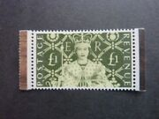 Gb Qeii 2003 Andpound1 Coronation Stamp 2b Sg 2380 Cat Andpound60 Ex Dx31 Perfect Coronation