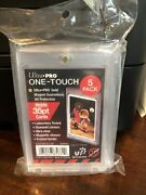 Ultra Pro One-touch Magnetic Card Holder 35pt Point - 5 Pack
